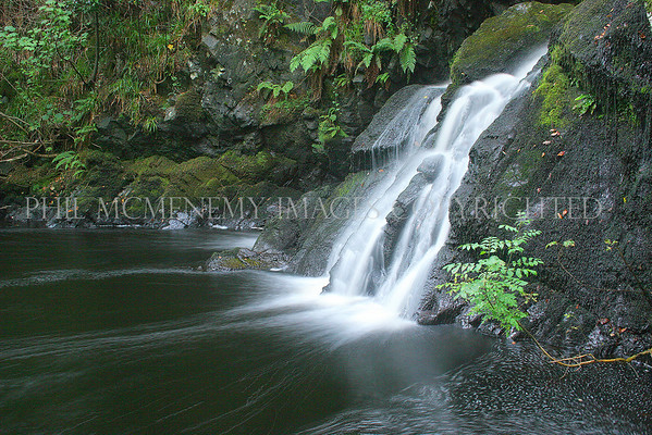 Galloway Waterfall<br /> <br /> A spilling cataract tumbles on - this is where the faeries swim!
