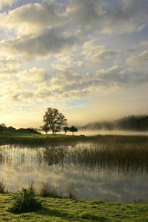 Morning Light - Morning Mist <br /> <br /> My unconscious homage to Constable, misty timelessness and of a place.