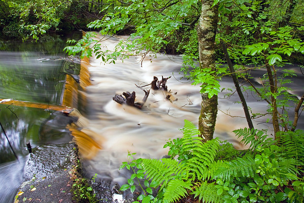 Even Flow<br /> <br /> The chocolate river - flows and flows.