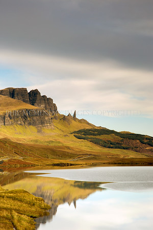 Across Loch Leathan to The Storr (ii)<br /> <br /> An image I have seared into my brain from a child - to be here, there, was remarkable - I was chattering with excitement like a wee Jack Russell dog I was!!!