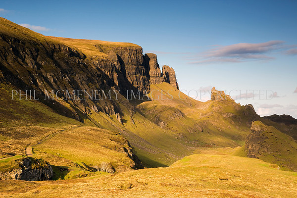 Towers of Skye<br /> <br /> The fortress like structure and geology of north Skye - an amazing trip.