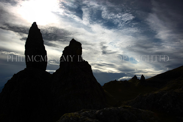 The Bliss and the Old Man<br /> <br /> The old Man of Storr - I was shaking with excitement and had to take many deep breaths to compose both myslef and nmy camera