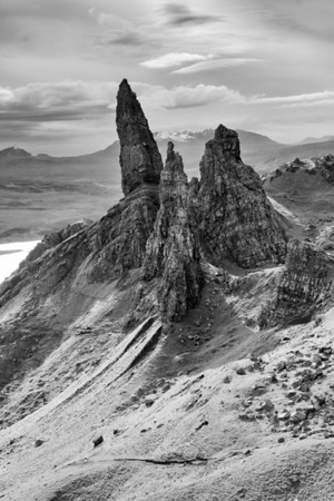 The Kingdom of Storr<br /> <br /> The view back south from a hilltop beyond the Old Man, this is his realm!!!