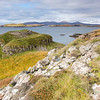 Broch!<br /> <br /> Wonderful early morning Skye-light looking over a broch to MacLeods Tables near Harlosh.