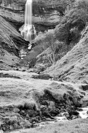 A Torrent<br /> <br /> A crashing waterfall amidst the silence