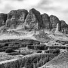 The Storr Ridgeline<br /> <br /> Short only of a cowboy or two, I feel this has a very wild-west feel to it. Reminiscent of those classic American b/w images