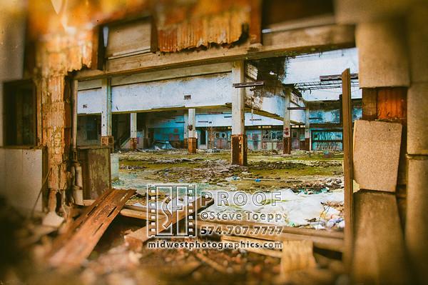 "Urban Decay Series ""Passageways"""