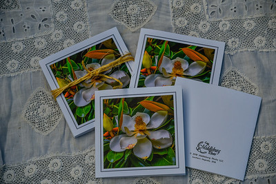 5x5 classic linen cards (4 to a pack $12.00)