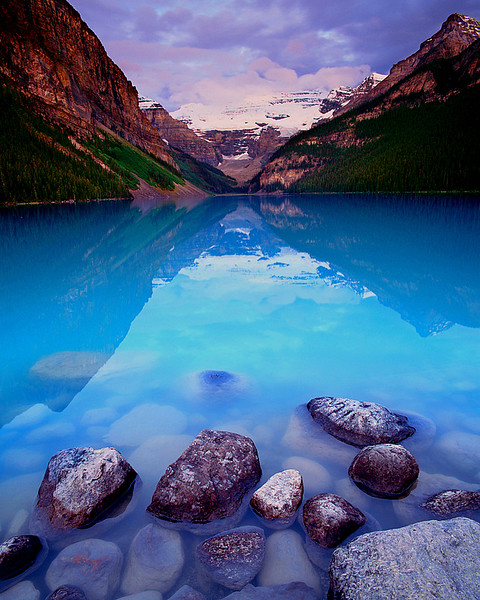 Alberta, Canada, Summer Sunrise, Lake Louise
