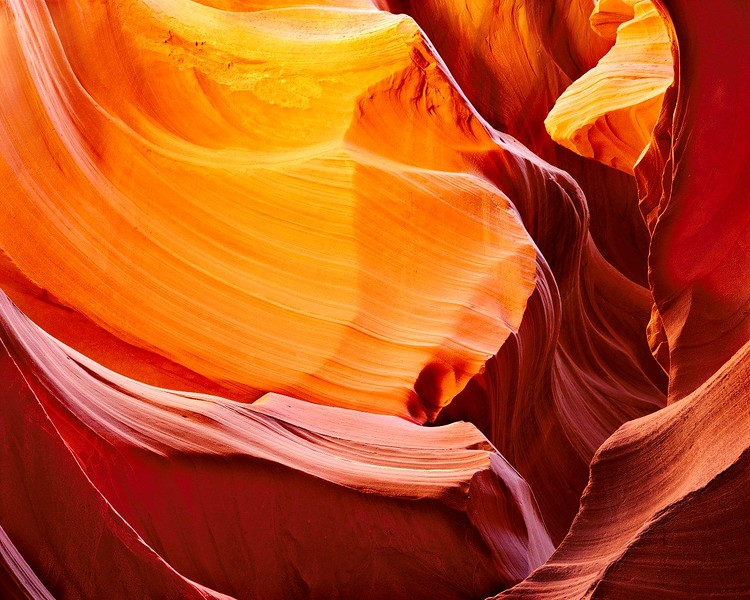 Bas-relief, Antelope Canyon, Navajo Lands, Arizona