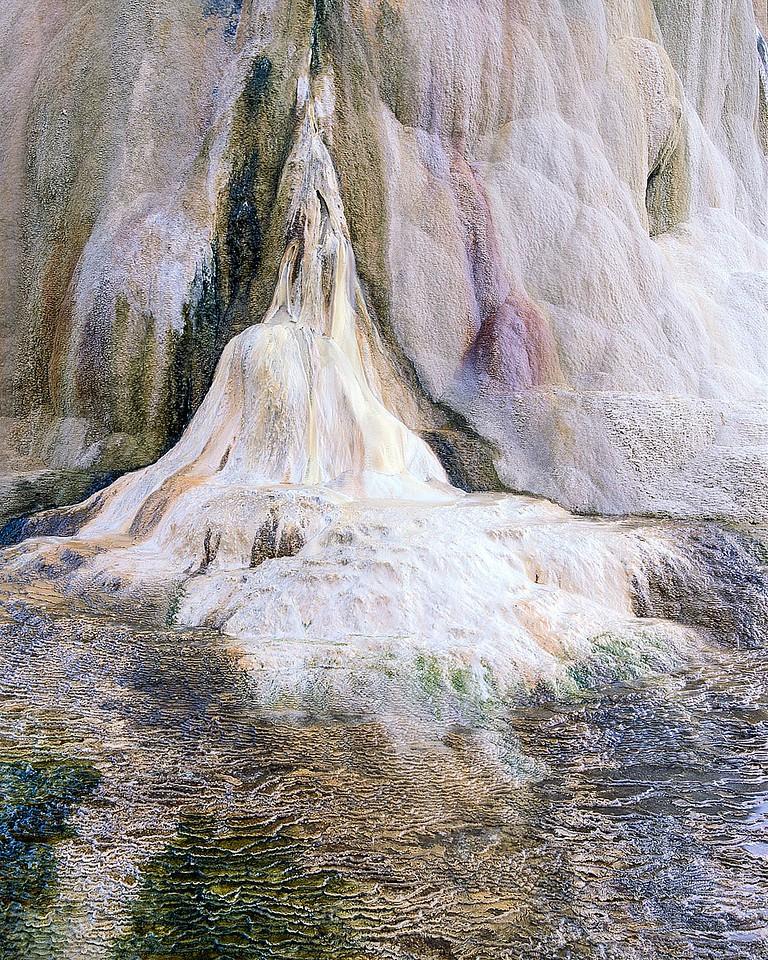 Iridescent Hot Spring, Wyoming