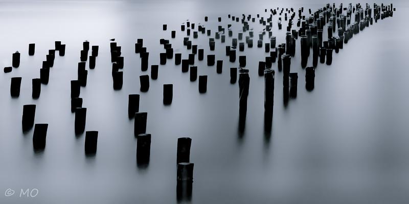 Fog pillars