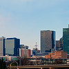 charlotte north carolina skyline panorama