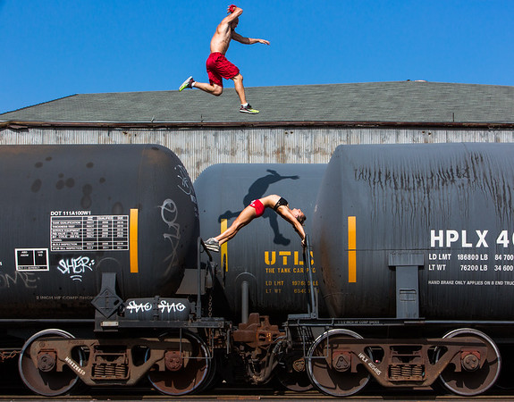 Stunt man. By Aaron Paul Rogers Photography.