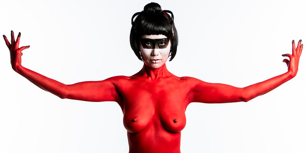 Red Body Paint
