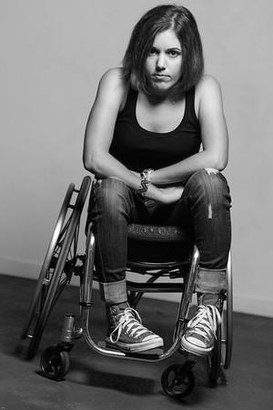 Photography by Aaron Paul Rogers. Alanna Flax-Clark tough