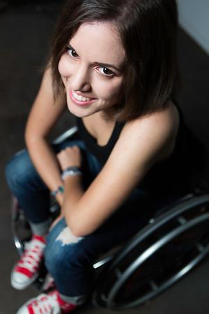 Photography by Aaron Paul Rogers. Alanna Flax-Clark smile
