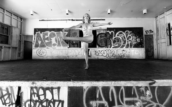 Photography by Aaron Paul Rogers. Nude Yoga