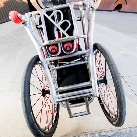 Seanco custom wheelchair