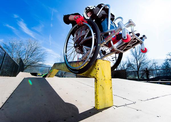 WCMX grind skate park