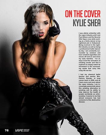Vape magazine on the cover.