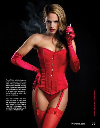 Vape Magazine sexy