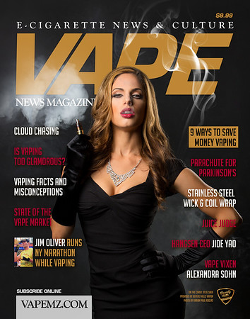 Vape Magazine cover