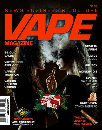 Vape Magazine Cover Oct