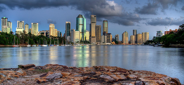 Brisbane City from K/point by Andrew Carpenter