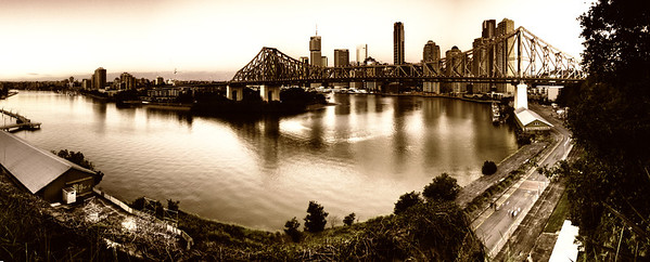 Story Bridge (3), Brisbane, QLD by Andrew Carpenter