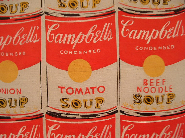 200 Campbells Soup Cans - Andy Warhol - Acrylic on Canvas - 1962<br /> <br /> Photo Taken by me in 2005 at the National Gallery in D.C.