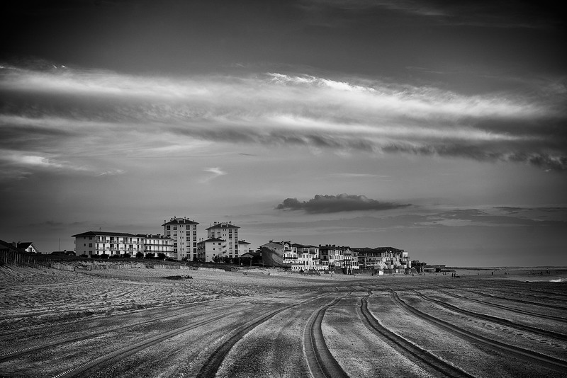 Hossegor, Beach. France 2014