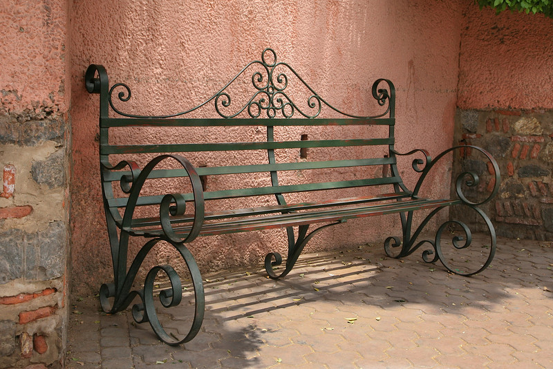 Bench near Square