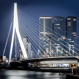 Erasmus Bridge #01, Rotterdam. Netherlands 2015