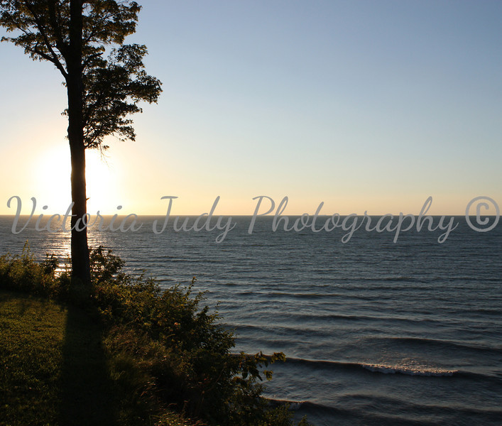Sunset <br /> <br /> Lake Erie, Pennsylvania - 2010