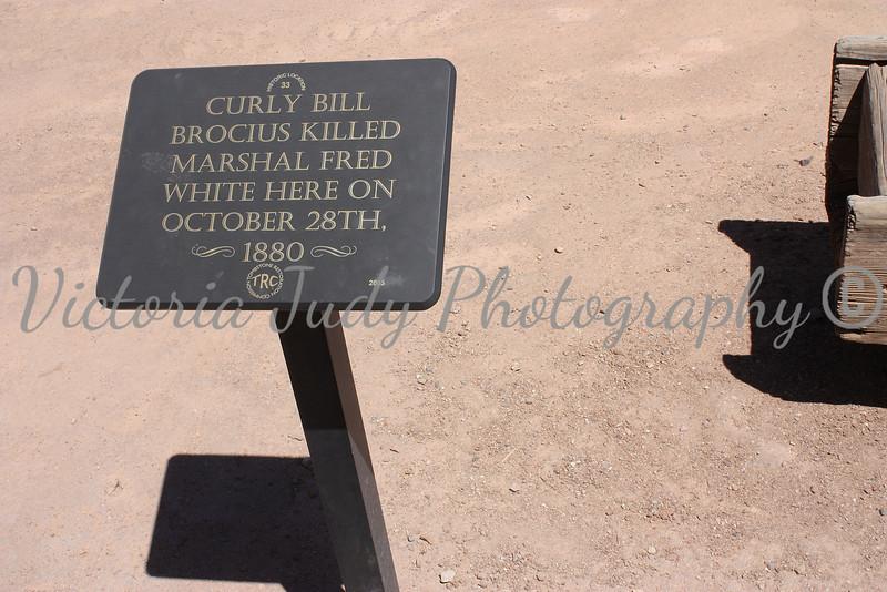 Sign on Main Street - Tombstone, Arizona - 2010
