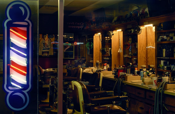 the barbers closed