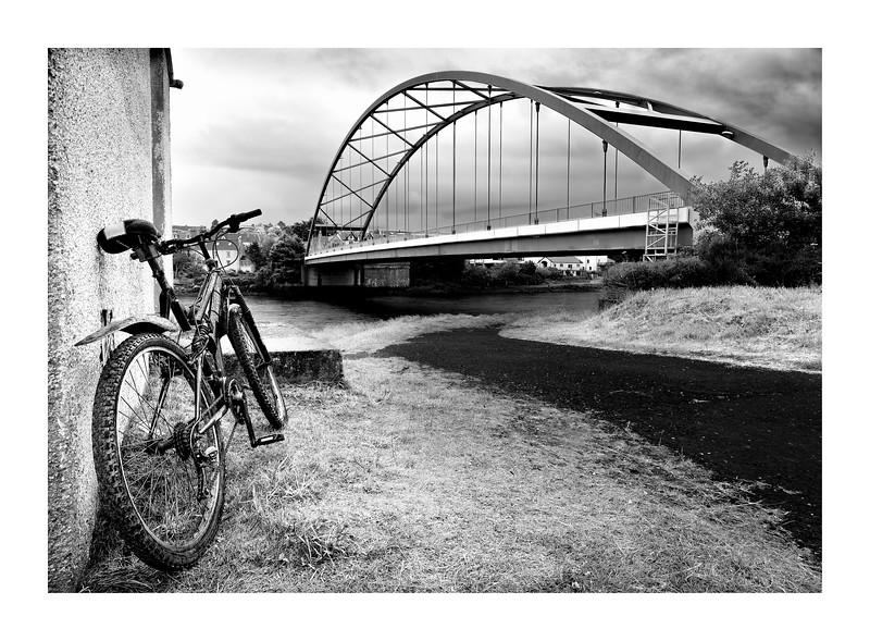 Pedal Bike at Bonar Bridge