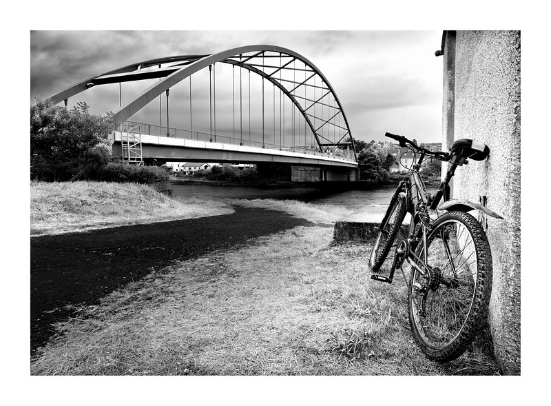 Pedal Bike at Bonar Bridge