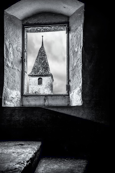 Tower View; Château de Gruyères