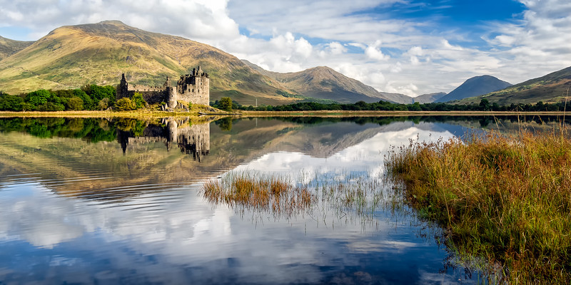 Kilchurn Castle & Stll Waters