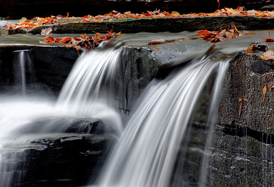 fall waterflow