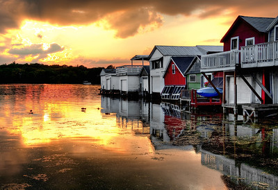 boathouse firesky