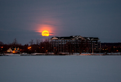snow supermoon