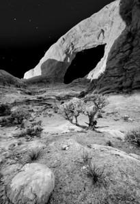 moonlit desert and dipper