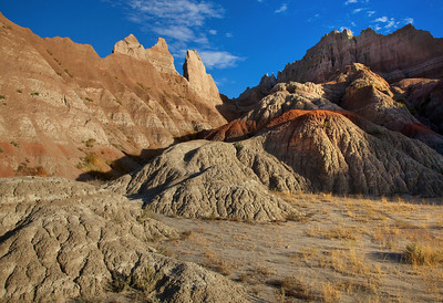 badlands colors