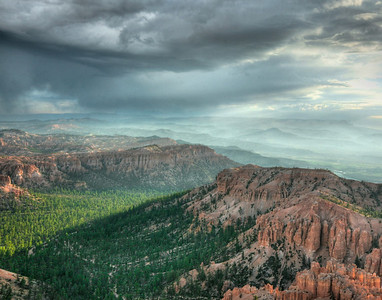 storms over bryce
