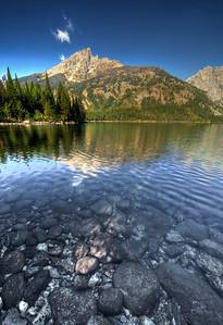 Jenny lake scene