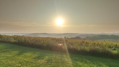 """Sunrise on the Bluffs"""