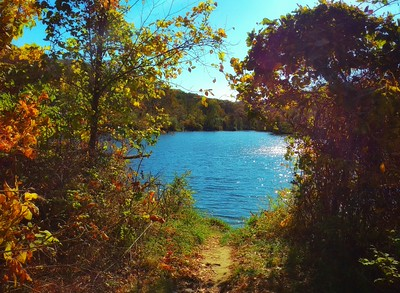 """""""Mile Hill Lake in October"""""""